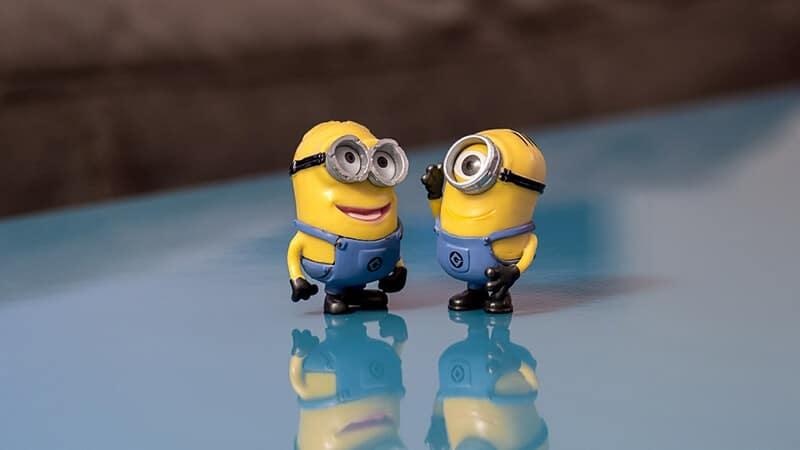 Cerita Percakapan Lucu Singkat - Minions