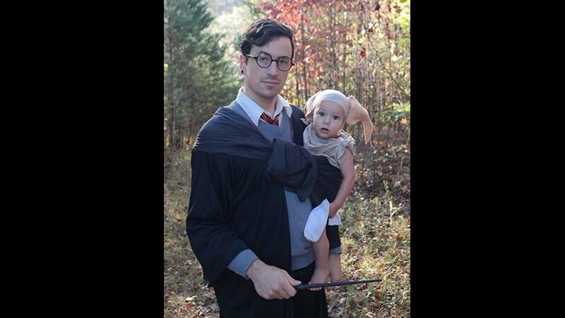 Foto foto gokil bikin ngakak - Pria berkostum Harry Potter
