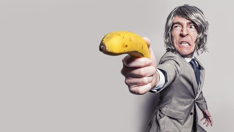 DP lucu banget bikin ngakak - Pistol pisang
