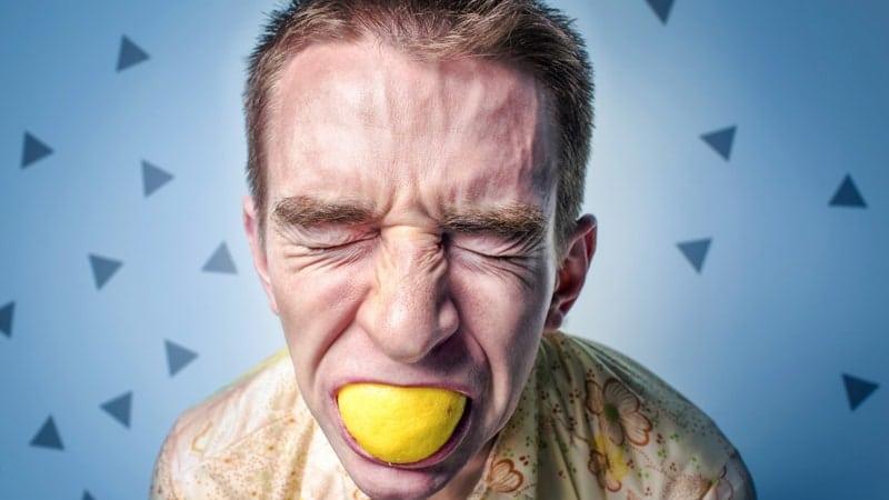 Meme Lucu Bahasa Jawa - Makan Lemon