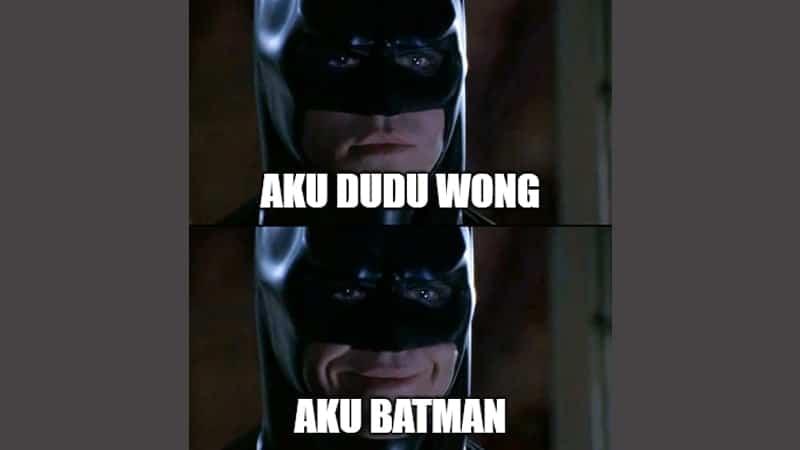 Meme Lucu Bahasa Jawa - Batman