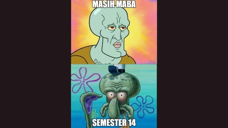 Meme Lucu buat Komen - Meme Squidward