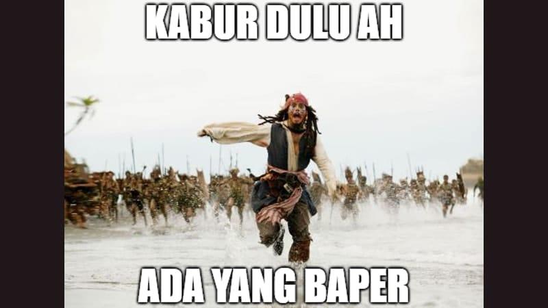 Meme Lucu buat Komen - Meme Jack Sparrow