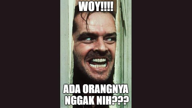 Meme Lucu buat Komen - Meme The Shining