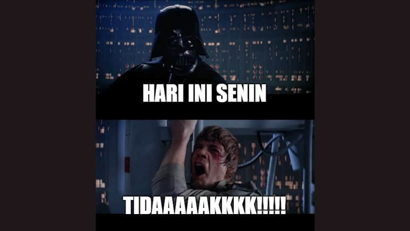 Meme Lucu buat Komen - Meme Darth Vader dan Luke