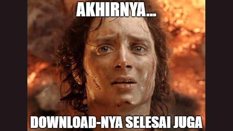 Meme Lucu buat Komen - Meme Lord of The Rings