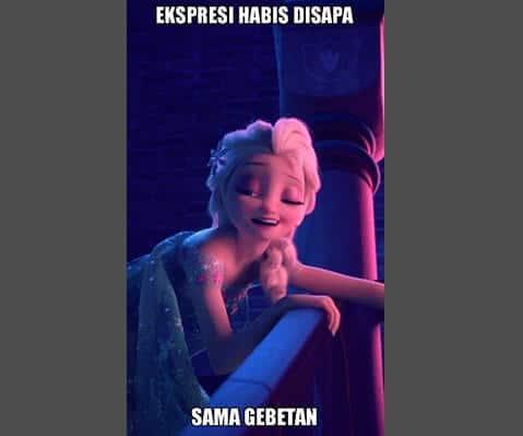 Kumpulan meme lucu banget - Elsa