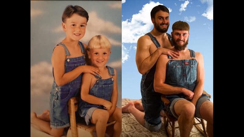 Kumpulan Foto Foto Lucu - Kakak Adik