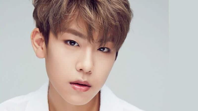 Profil Member Wanna One - Woojin