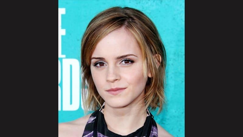 Gaya rambut pendek wanita - Emma Watson