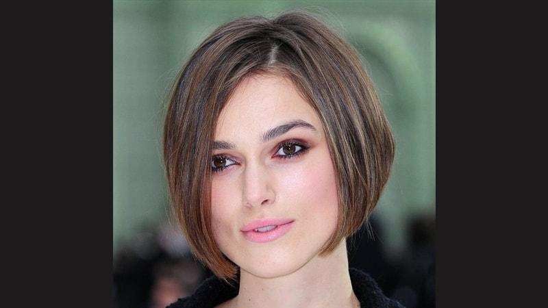 Gaya rambut pendek wanita - Keira Knightley