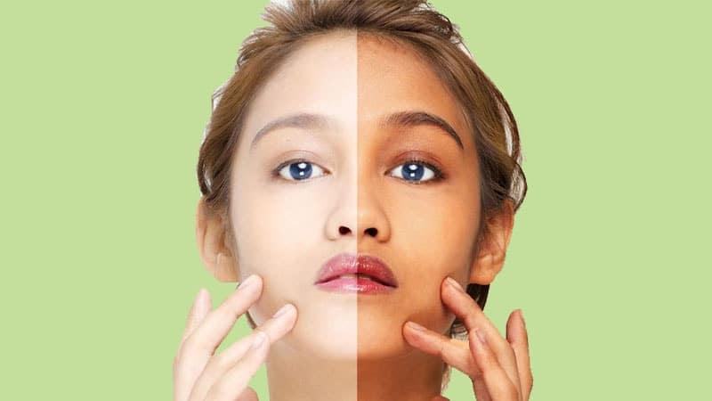 Cara Memutihkan Wajah dengan Cepat - Perbedaan Before dan After