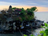 Tempat wisata Tanah Lot Bali - Pura utama