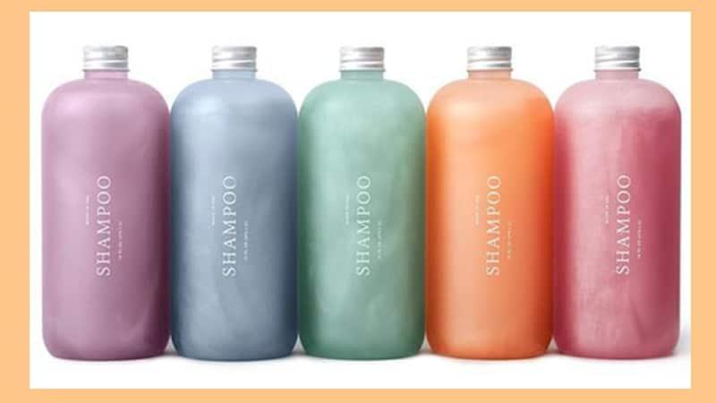 Shampo Anti Ketombe Paling Ampuh - Botol Shampo Warna Warni