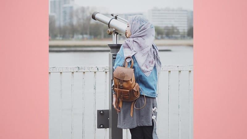 Model Fashion Hijab Modern - Gita Savitri