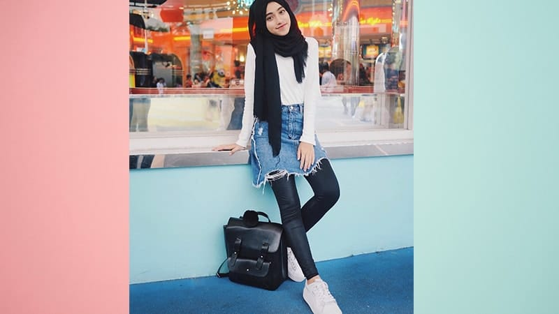 Model Fashion Hijab Modern - Shirin Al Athrus