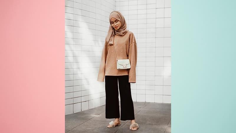 Model Fashion Hijab Modern - Intan Khasanah