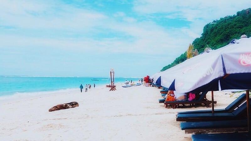 Wisata Pantai Pandawa Bali - Tenda