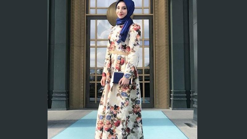 8 Inspirasi Model Baju Gamis Pesta Dari Berbagai Negara Kepogaul
