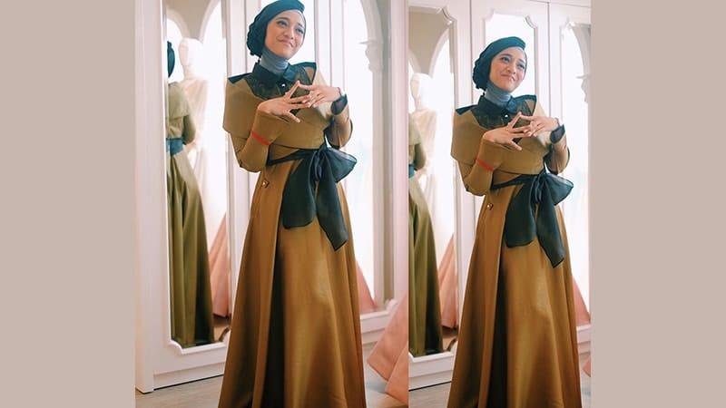 Model Baju Gamis Modern - Chikita Fawzi