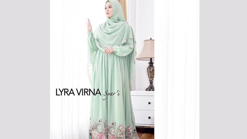 Model Baju Gamis Modern - Lyra Virna