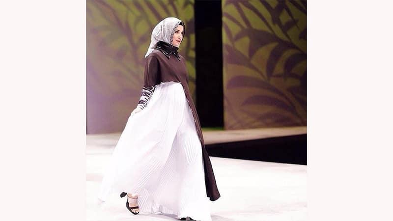 Model Baju Gamis Modern - Shireen Sungkar