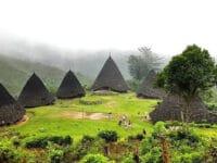 Tempat Wisata di NTT - Rumah Adat di Wae Rebo