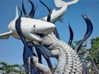 Tempat Wisata di Surabaya - Patung Suro dan Boyo