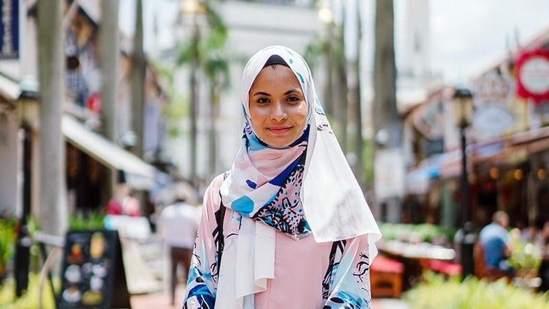 Model Baju Gamis Syari - Hijab Traveler
