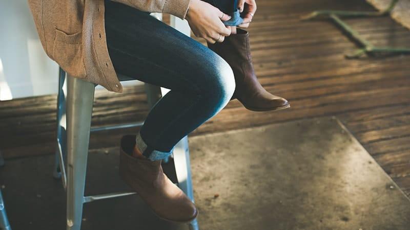 Model Sepatu Boots Wanita - Sepatu Boots Ankle