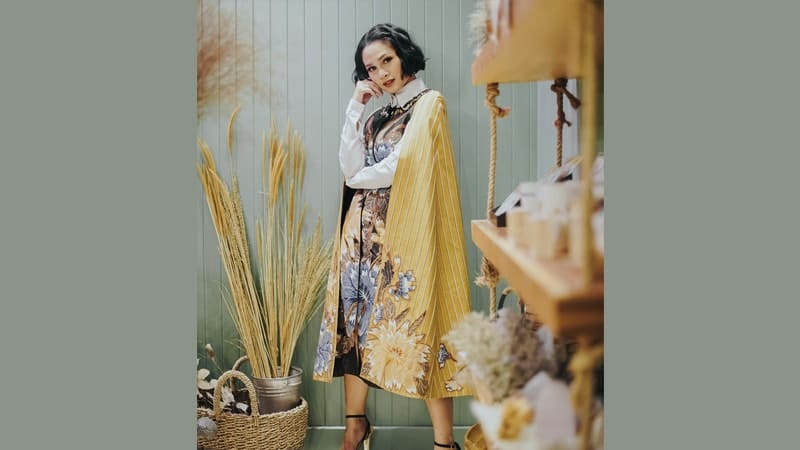 Model dress batik elegan - Andien