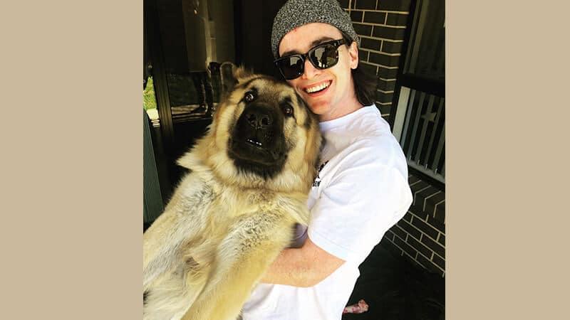 Foto anjing lucu banget - Hewan kaget