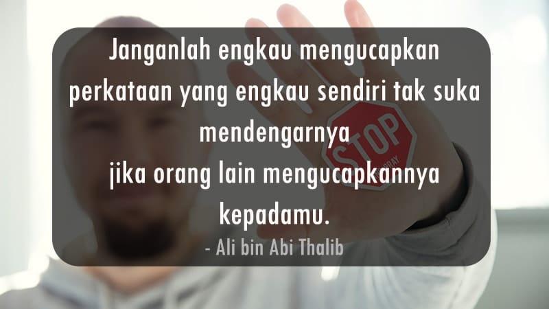 Kata-Kata Inspiratif Islami - Ali bin Abi Thalib