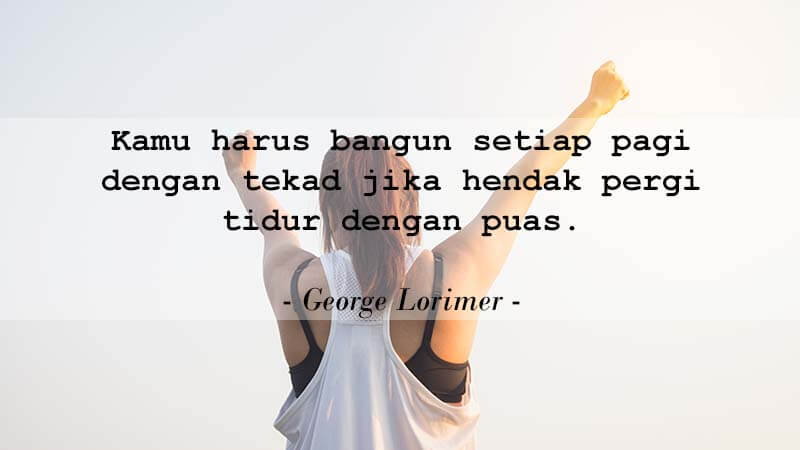 Kata-Kata Motivasi Kerja - George Lorimer