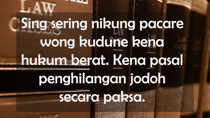 Status Galau Bahasa Jawa Ekspresi Kegundahan Kepogaul