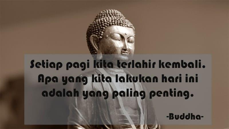 Kata-Kata Semangat Pagi - Buddha Lahir Kembali