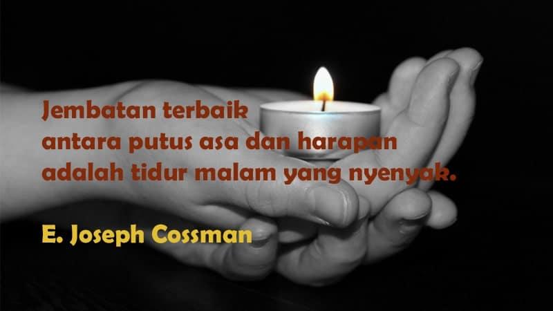Ucapan Selamat Tidur Romantis - E. Joseph Cossman
