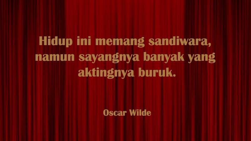 Kata-Kata Sindiran Bijak - Oscar Wilde