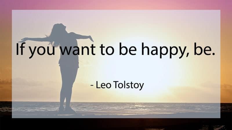 Motto Hidup Bahasa Inggris - Leo Tolstoy