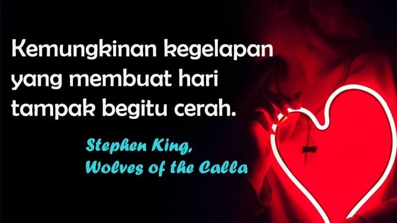 Ucapan Selamat Tidur buat Pacar yang Jauh - Stephen King, Wolves of the Calla
