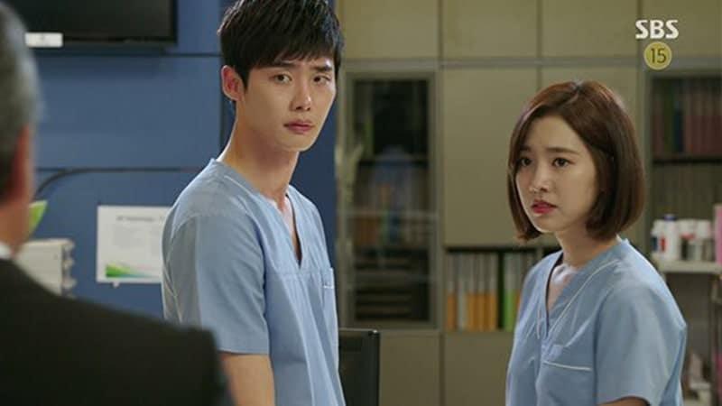 Drama Lee Jong Suk - Doctor Stranger