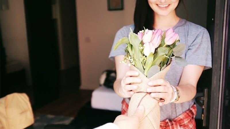 Rangkaian Bunga untuk Pacar - Kasih BUnga ke Pacar