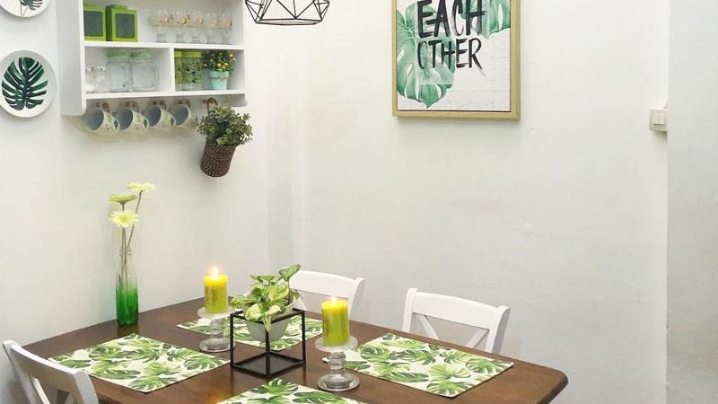 Desain Taman dalam Rumah - Ruang Makan
