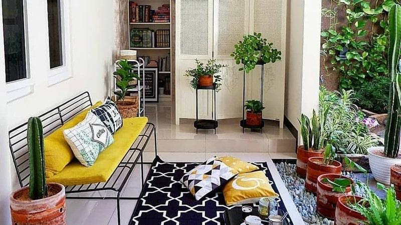 10 Desain Taman dalam Rumah untuk Mempercantik Ruangan