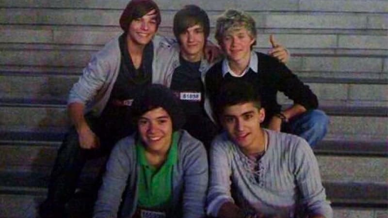 Foto-Foto Zayn Malik - - foto pertama One Direction
