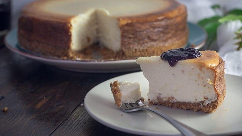 Cara Membuat Cheese Cake - Cheese Cake Blueberry