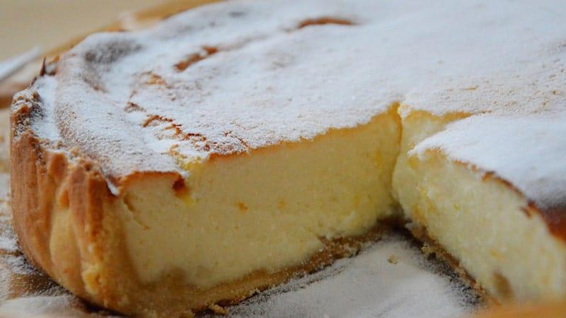 Cara Membuat Cheese Cake - Cheese Cake Topping Gula Halus