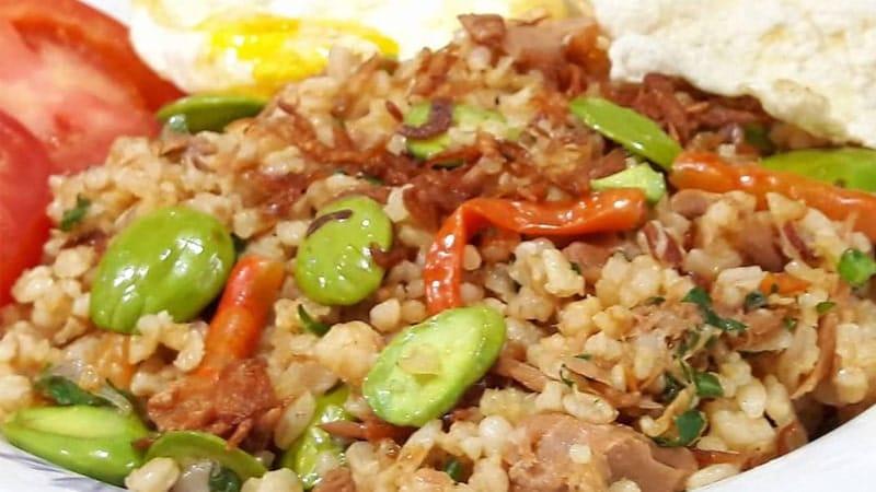Resep Nasi Goreng Seafood - Nasi Goreng Seafood Tuna Oriental