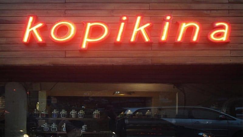 Tempat Ngopi di Jakarta - Kopikina