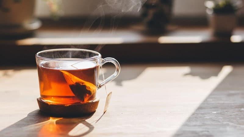 manfaat minum teh di pagi hari - teh celup